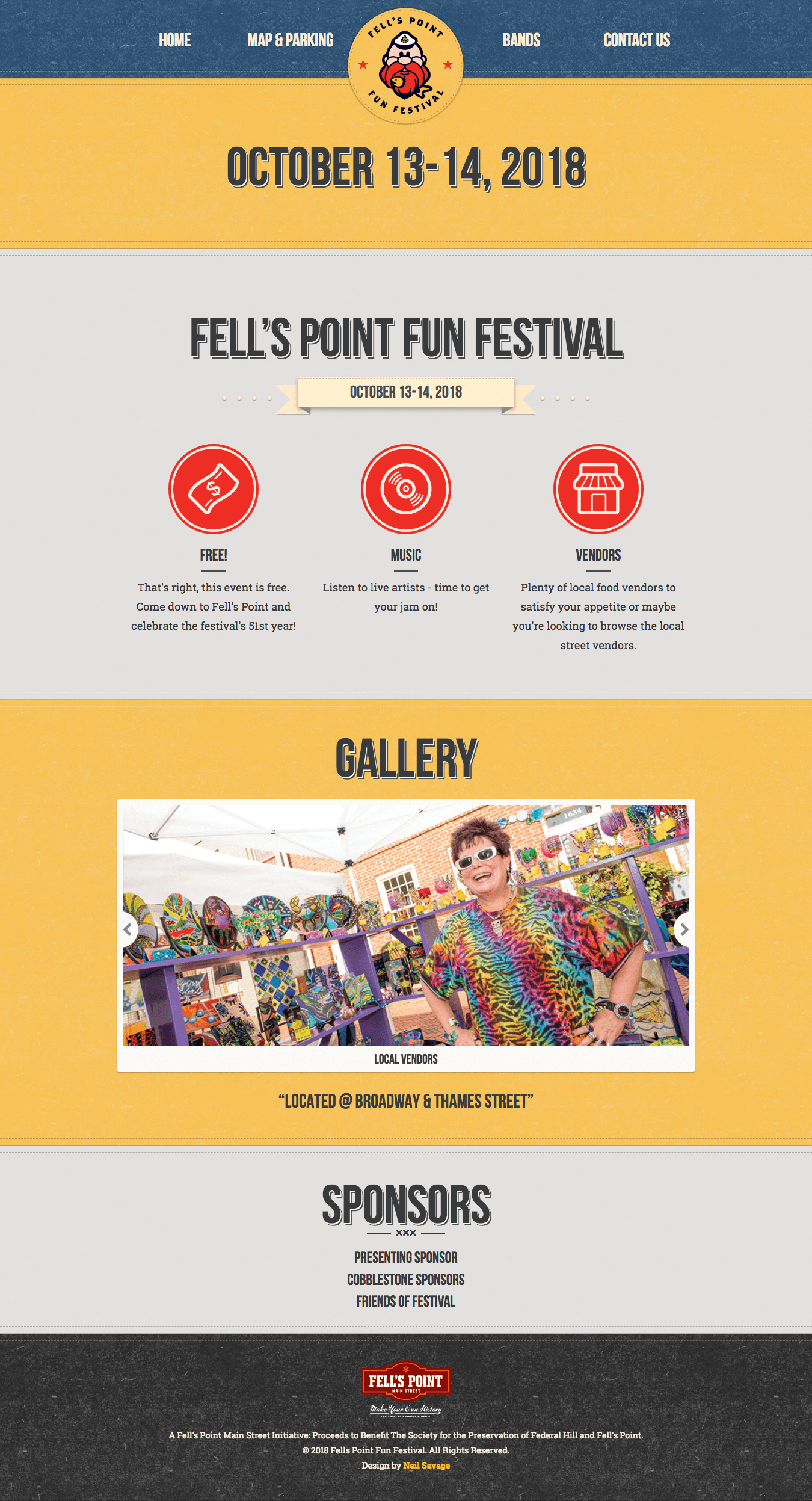 Fell's Point Fun Fest Homepage